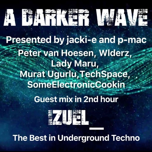 #206 A Darker Wave 26-01-2019 (guest mix in 2nd hour iZueL_) Cover