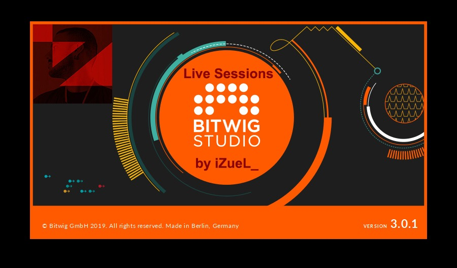 YouTube Live Sessions & Bitwig 🎚