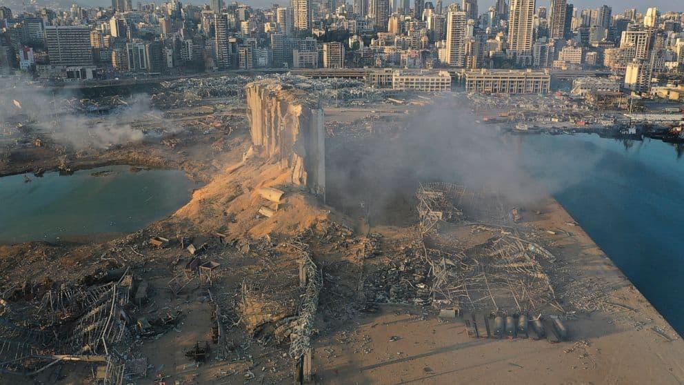 Lebanon Explosion 2020